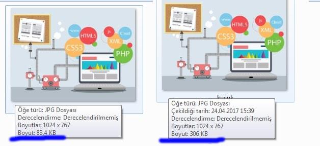 Website resim küçültme